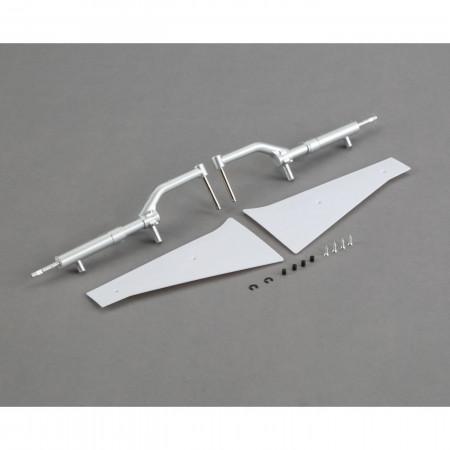 Landing Gear, Struts, and Door Set: P-51D 1.2m