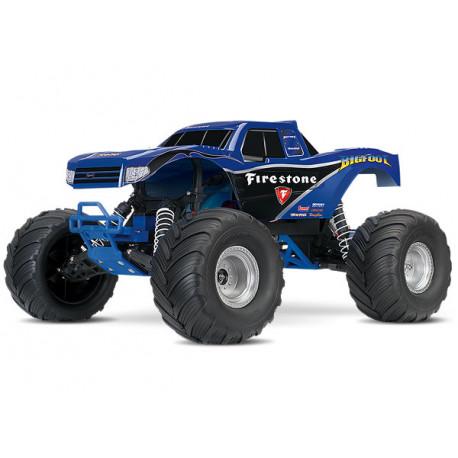 BIGFOOT Monster Truck 2WD 1/10 RTR TQ Blå