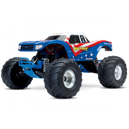 BIGFOOT Monster Truck 2WD 1/10 RTR TQ Röd/Vit/Blå