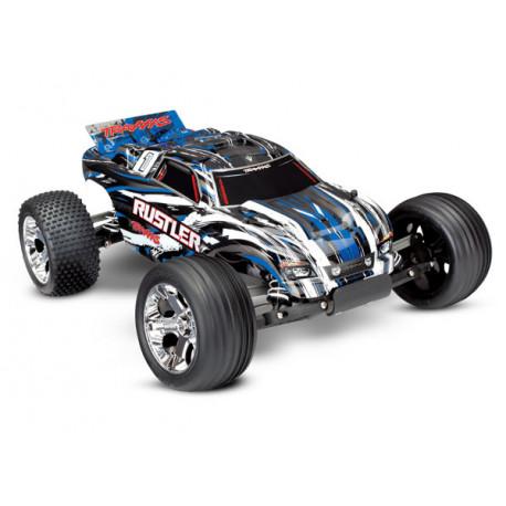 Rustler 2WD 1/10 RTR TQ Blå - Med Batteri/Laddare