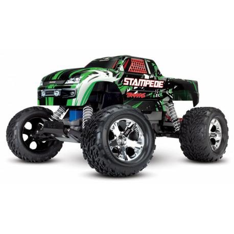 Stampede 2WD 1/10 RTR TQ Grön