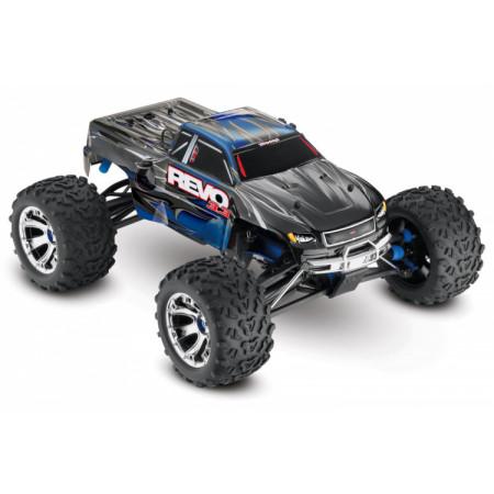 Traxxas Revo 3.3 4WD Nitro TQi TSM, Telemetri Blå