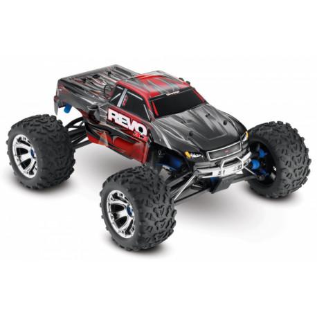 Revo 3.3 4WD Nitro TQi TSM, Telemetri Röd