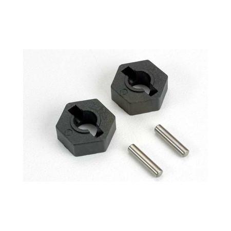 Traxxas 4954 Hjulnav Sexkant 14mm Plast (2)