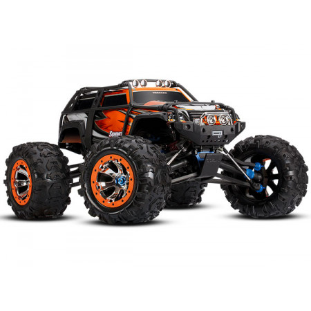 Traxxas Summit 4WD 1/10 RTR TQi LED Orange - Utan Batt/Laddare