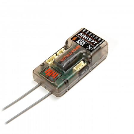 Spektrum AR637T 6-Channel AS3X Telemetry Receiver