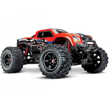 X-Maxx 8S 4WD Brushless TQi TSM Röd-X
