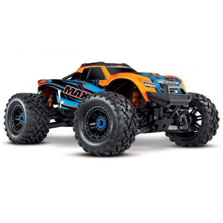 Traxxas Maxx 4x4 1/10 RTR TQi Borstlös TSM Orange