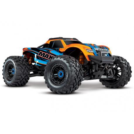 Maxx 4x4 1/10 RTR TQi Borstlös TSM Orange