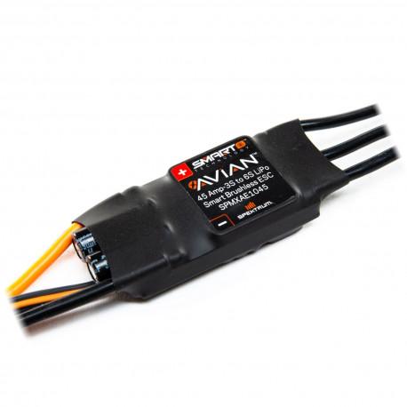 Spektrum Avian 45 Amp Brushless Smart ESC, 3S-6S