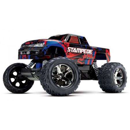 Traxxas Stampede VXL 2WD 1/10 RTR TQi TSM Röd - Utan Batt/Ladd