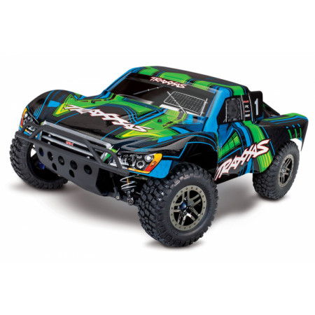 Slash 4x4 Ultimate RTR TQi Telemetri TSM Grön