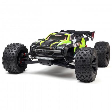Arrma - 1/5 KRATON 4X4 8S BLX Brushless Speed Monster Truck RTR - Grön