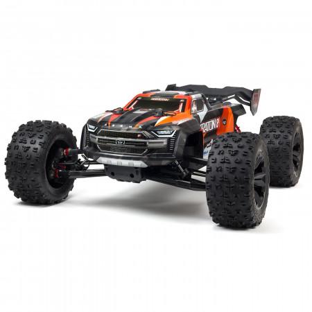 Arrma - 1/5 KRATON 4X4 8S BLX Brushless Speed Monster Truck RTR- Orange