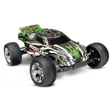 Rustler 2WD 1/10 RTR TQ Grön - Med Batteri/Laddare