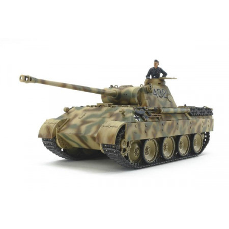 1:48 GERMAN TANK PANTHER AUSF.D