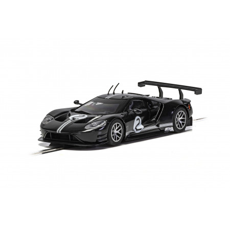 Scalextric C4063 FORD GT GTE BLACK NO2 - HERITAGE EDITION