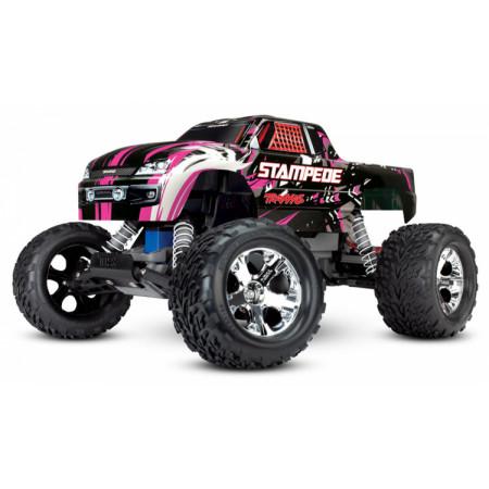 Stampede 2WD 1/10 RTR TQ Pink Special Edition med Batt/Ladd
