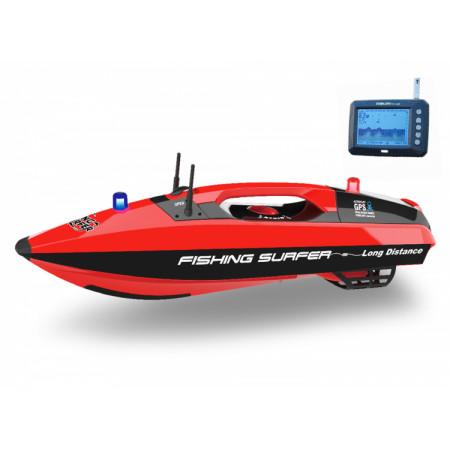 Fishing Surfer Betesbåt Radiostyrd med GPS, Ekolod