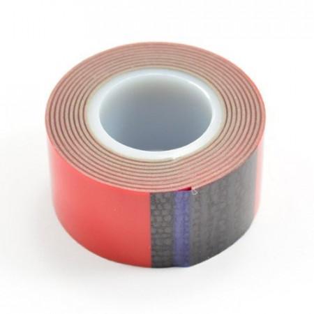Fastrax dubbelhäftande tejp 25mm X 1meters rulle (tjocklek 1mm)