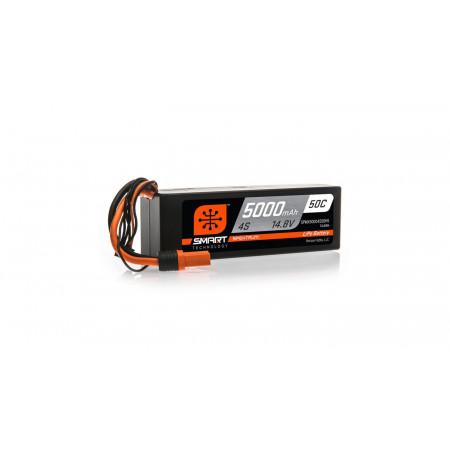 14.8V 5000mAh 4S 50C Smart LiPo Hardcase, IC5