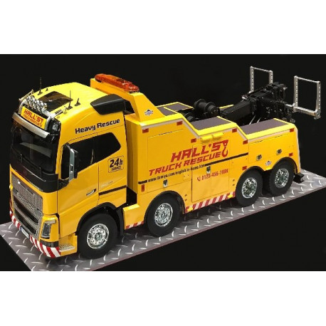 Tamiya 1/14 VOLVO FH16 8X4 TOW TRUCK GLOBETROTTER 750
