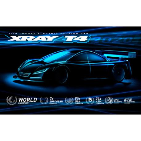 XRAY T4 2020 Spec Aluminium 1/10 Touring