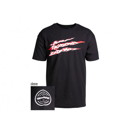 T-shirt Svart Traxxas-logga Riven L