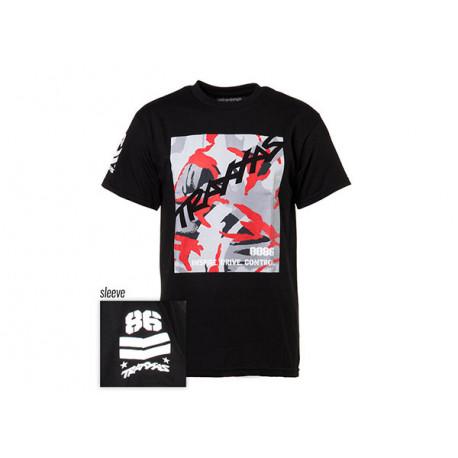 T-shirt Svart Traxxas-logga Camo M*