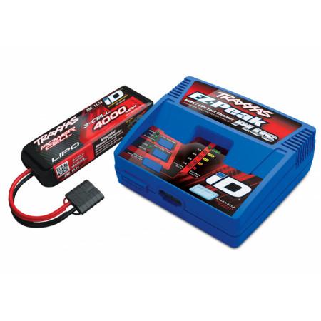 Laddare EZ-Peak Plus 4A och 3S 4000mAh Batteri Combo
