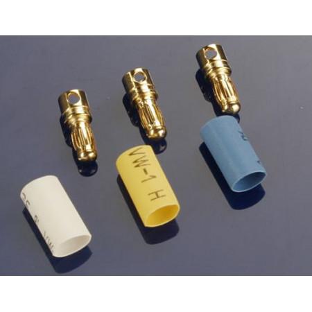Bullet Kontakt Hane 3,5mm med Krympslang (3)
