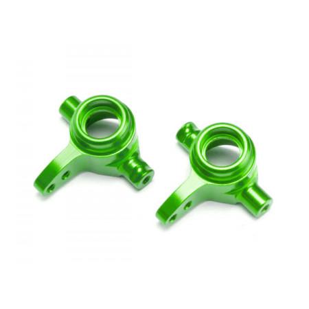 Styrspindel Alu Grön V+H (2)