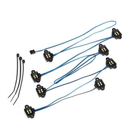 LED Ljus Hjulhus TRX-4/TRX-6