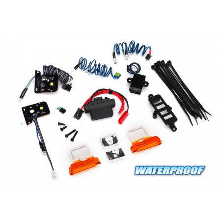 Traxxas 8035 LED Ljus Set Komplett Bronco (8010)