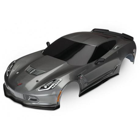 Kaross Chevrolet Corvette Z06 Grå Målad