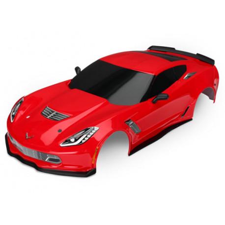 Kaross Chevrolet Corvette Z06 Röd Målad
