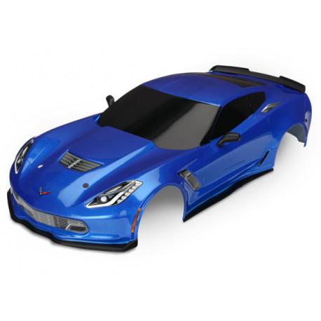 Kaross Chevrolet Corvette Z06 Blå Målad