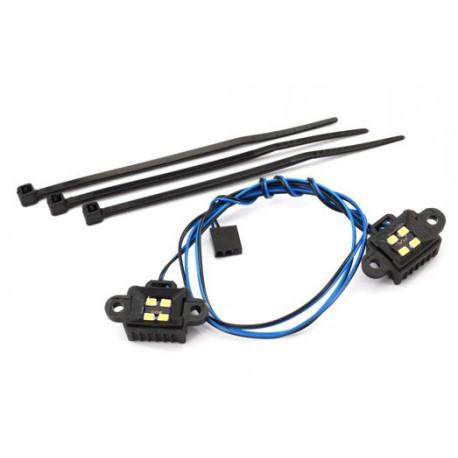 LED Ljus Hjulhus (Bakre Axel) TRX-6