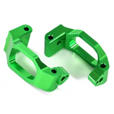 Styrspindelhållare Alu Grön (Par) Maxx