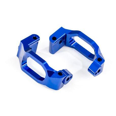 Styrspindelhållare Alu Blå (Par) Maxx