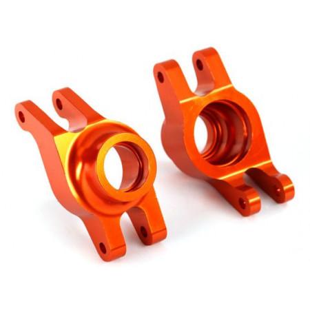 Hjulaxelhållare Bak Alu Orange (Par) Maxx