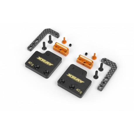 Batterihållare Justerbar för Shorty Batterier T4'19