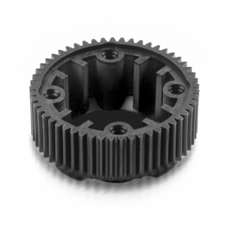 COMPOSITE GEAR DIFFERENTIAL CASE WITH PULLEY 53T - LCG - GRA