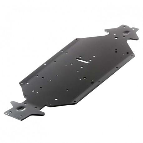 Bottenplatta SWB Aluminium Svart