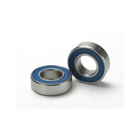 Kullager 8x16x5mm Gummitätat Blå (2)