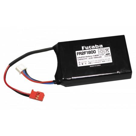 Mottagarbatteri Li-Fe 6,6V 1800mAh (FR2F1800)