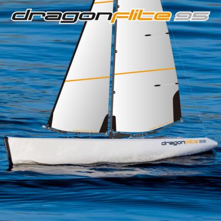 Segelbåt RTR 2.4G Dragon Flite 95