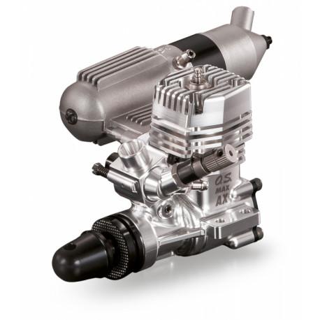 MAX-11AX 1.79cc 2-Takts Motor med Ljuddämpare