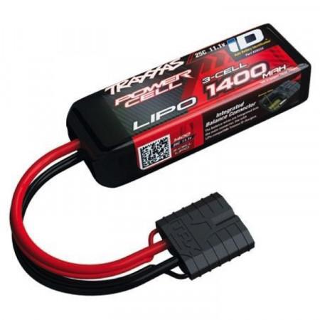 Traxxas Li-Po Batteri 3S 11,1V 1400mAh 25C iD-kontakt