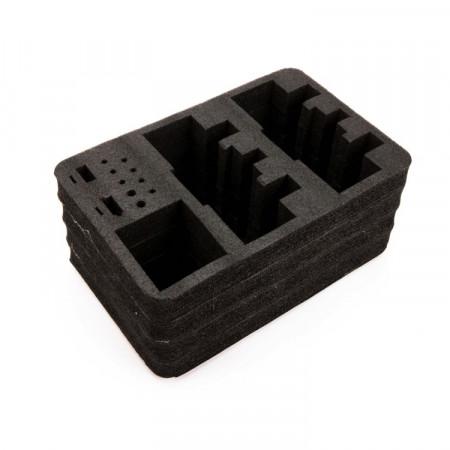 Spektrum Optional Dual Transmitter Foam Set: Stand Up TX Case